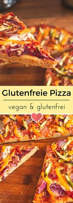 glutenfreie pizza rezept essen pinterest glutenfrei gluten und vegan. Black Bedroom Furniture Sets. Home Design Ideas