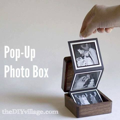 Photo boxes, keep your memories safe