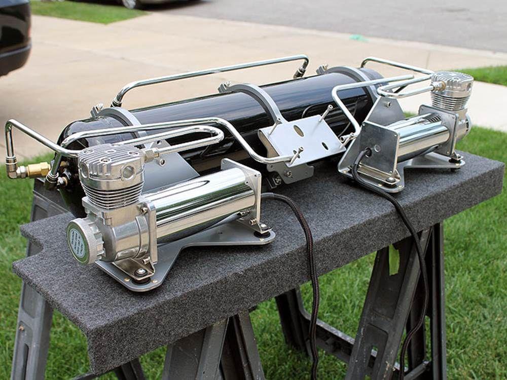Hardline Trunk Setup (eXo mounts, 5 gallon t... Panjo