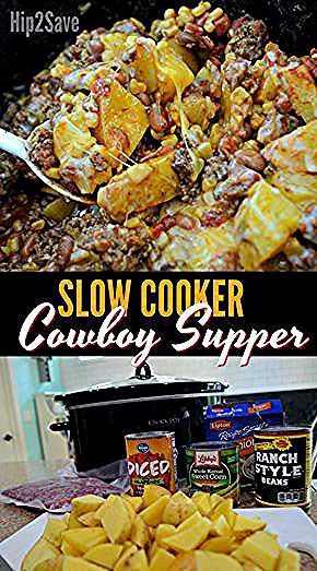 A Ground Beef And Potato Supper That Easily Comes Together For A Convenient And Delicious Sl In 2020 Dinner Recipes Crockpot Ground Beef And Potatoes Beef And Potatoes