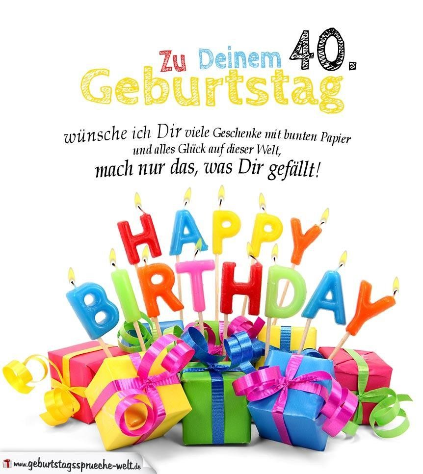 Geburtstag Bilder 40 Geburtstag Geburtstagbilder40 Geburtstag
