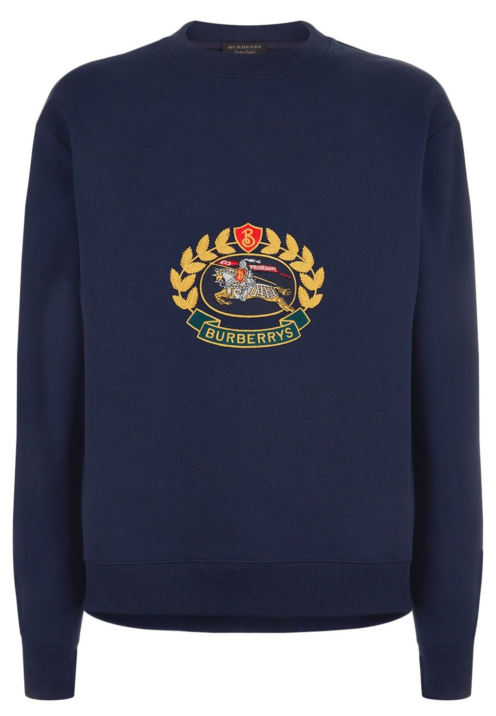 Burberry Embroidered Equestrian Knight Crest Sweatshirt Mens Sweatshirts Hoodie Sweatshirts Mens Sweatshirts [ 1466 x 1016 Pixel ]