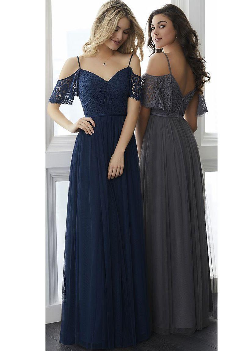 Navy Blue Off Shoulder A Line Lace Vintage Bridesmaid Dress Navy Blue Bridesmaid Dresses Bridesmaid Dresses Navy Bridesmaid Dresses