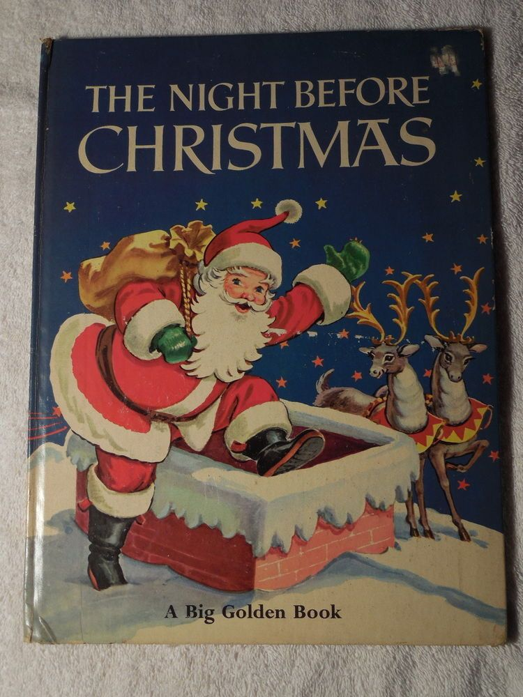Big golden book 1969 the night before christmas clement c