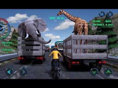 Moto Race Traffic YouTube Racing, Monster trucks