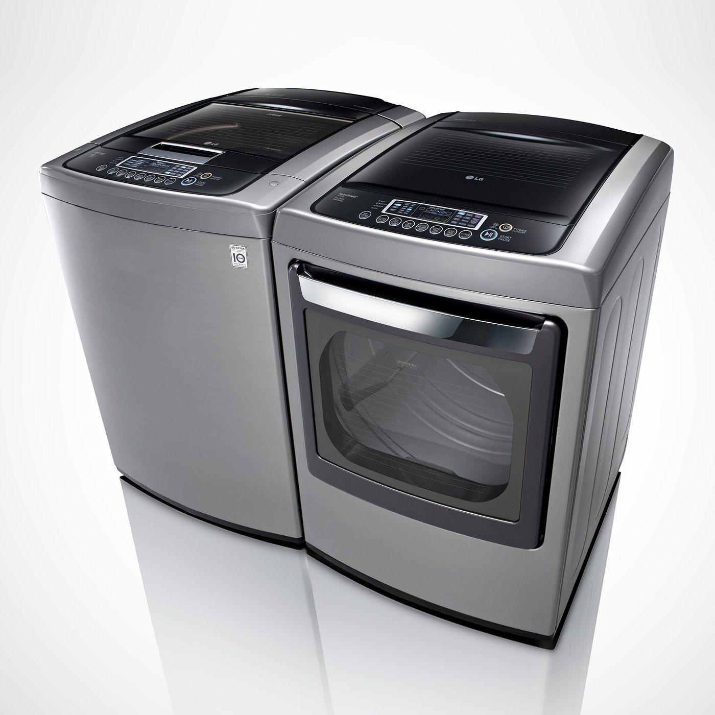 Lg Appliances Dley1201v Wt1201cv Washer Dryer Set Lowe S