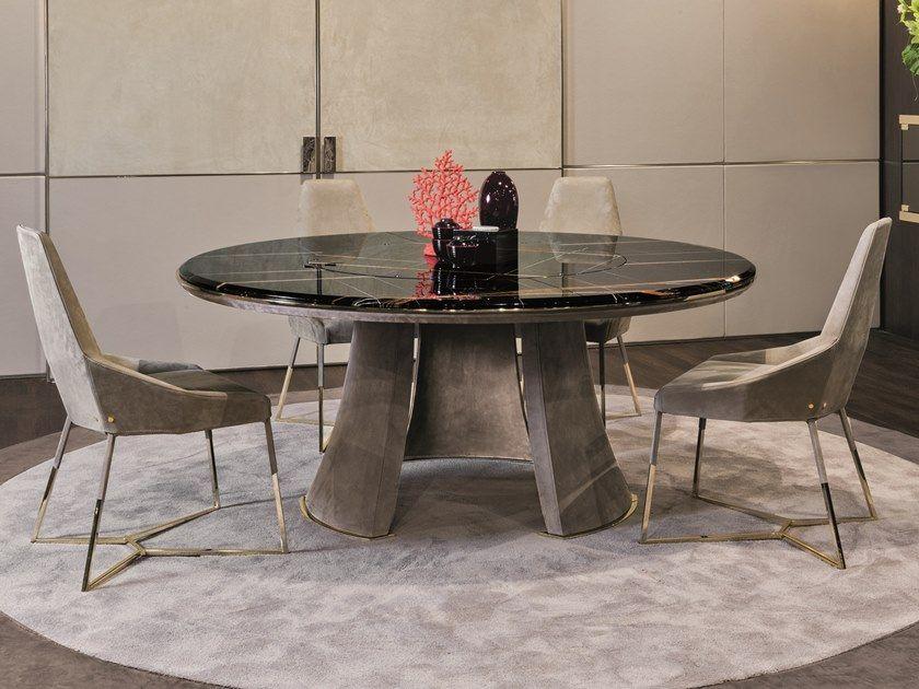 Telechargez Le Catalogue Et Demandez Les Prix De Damien Table Ronde By Longhi Table Ronde Lazy Susan Design Giuseppe Viga Table Salle A Manger Meuble Design