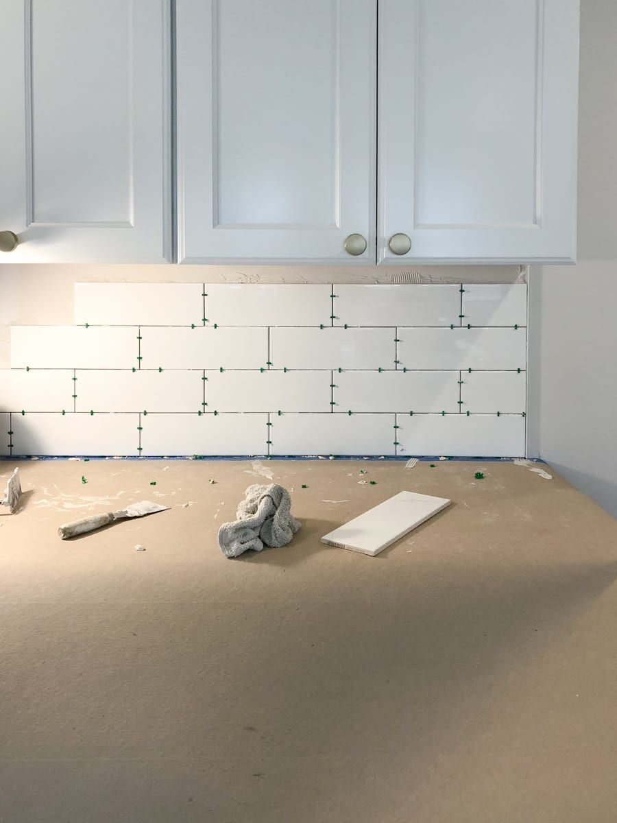 How To Install Backsplash Tile Install Backsplash Kitchen