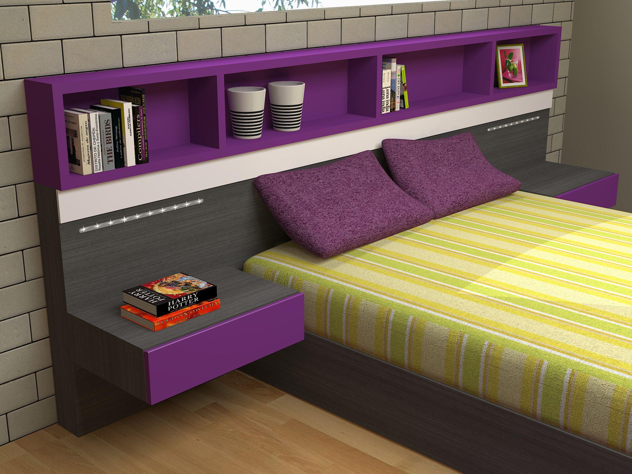 diseño dormitorio matrimonio a medida en onlinemuebles