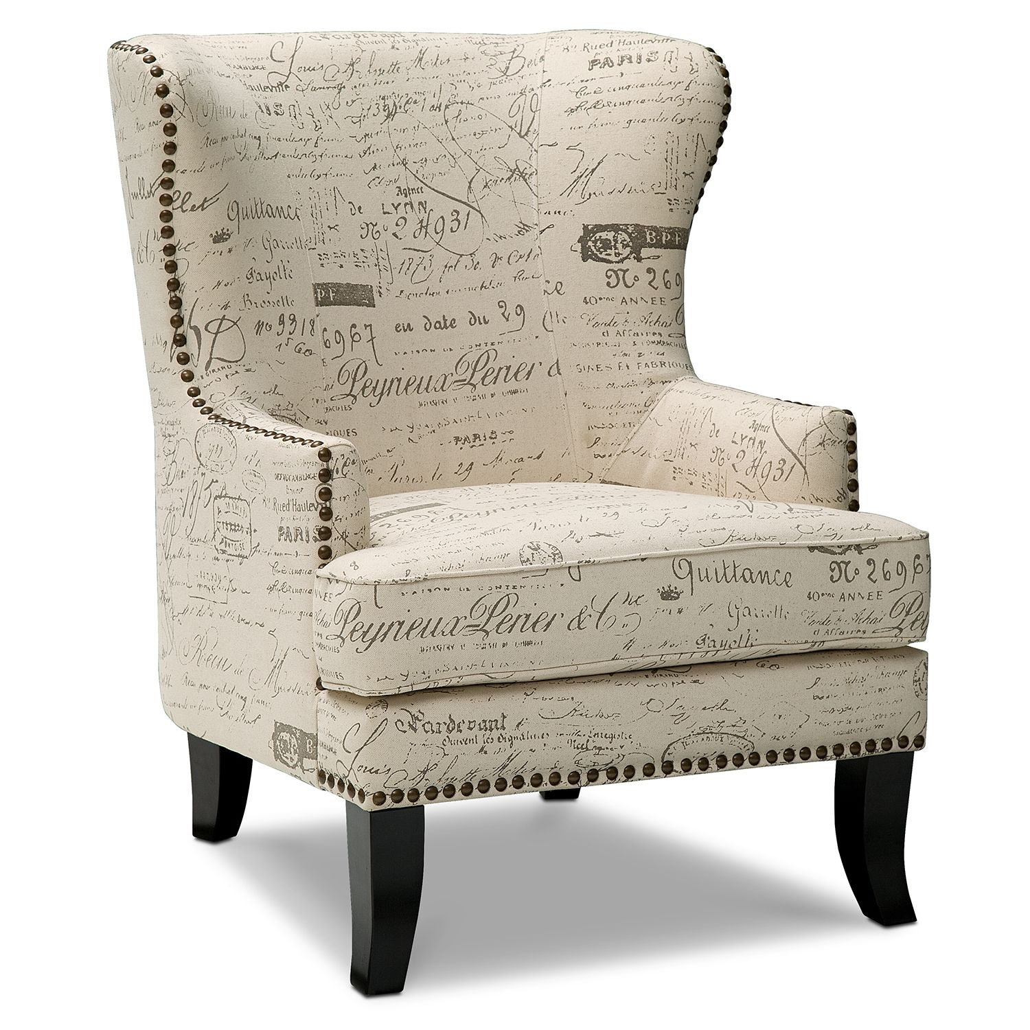 Best Avignon Upholstery Accent Chair Value City Furniture 400 x 300