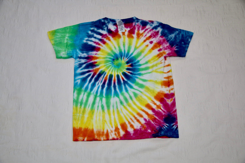 Kids tie dye shirt hippie kid 60s shirt colorful shirt