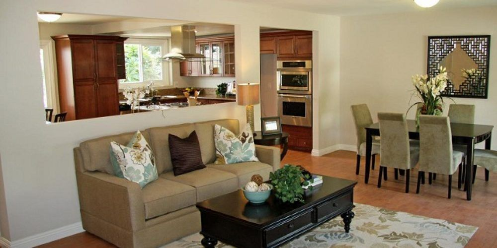 Image Result For How To Remove Wall Between Kitchen And Living Room Hgtv Living Room Flip Or Flop Traditional Living Room