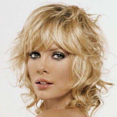 Frisuren naturlocken blond