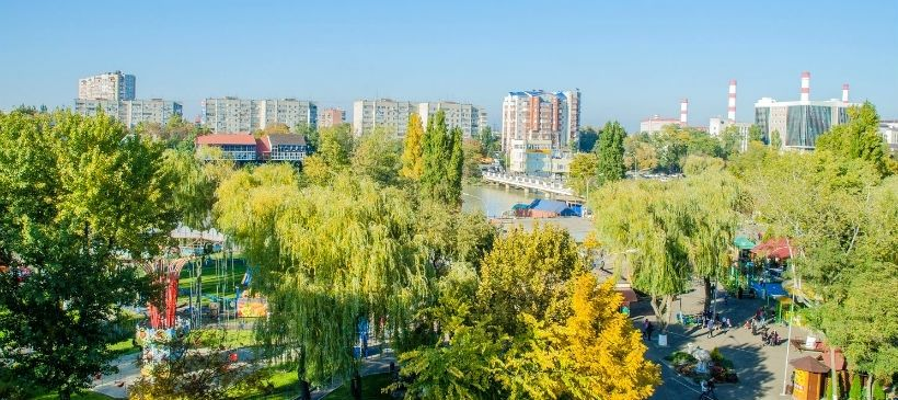 7 лучших панорамных площадок Краснодара