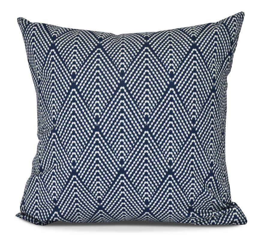 Elsa Indoor Outdoor Throw Pillow Geometric Throw Pillows Throw Pillows Indoor Throw Pillows