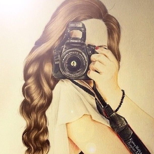 Gorgeously Detailed Hair Illustration Draw Color Camera Cbdsalon Waynenjsalon At Christina By Design Kristina Webb Art Kristina Webb Art Drawings