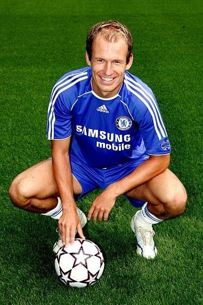 best loved a6795 8aaa1 Arjen Robben Chelsea | Soccer | Chelsea champions league ...