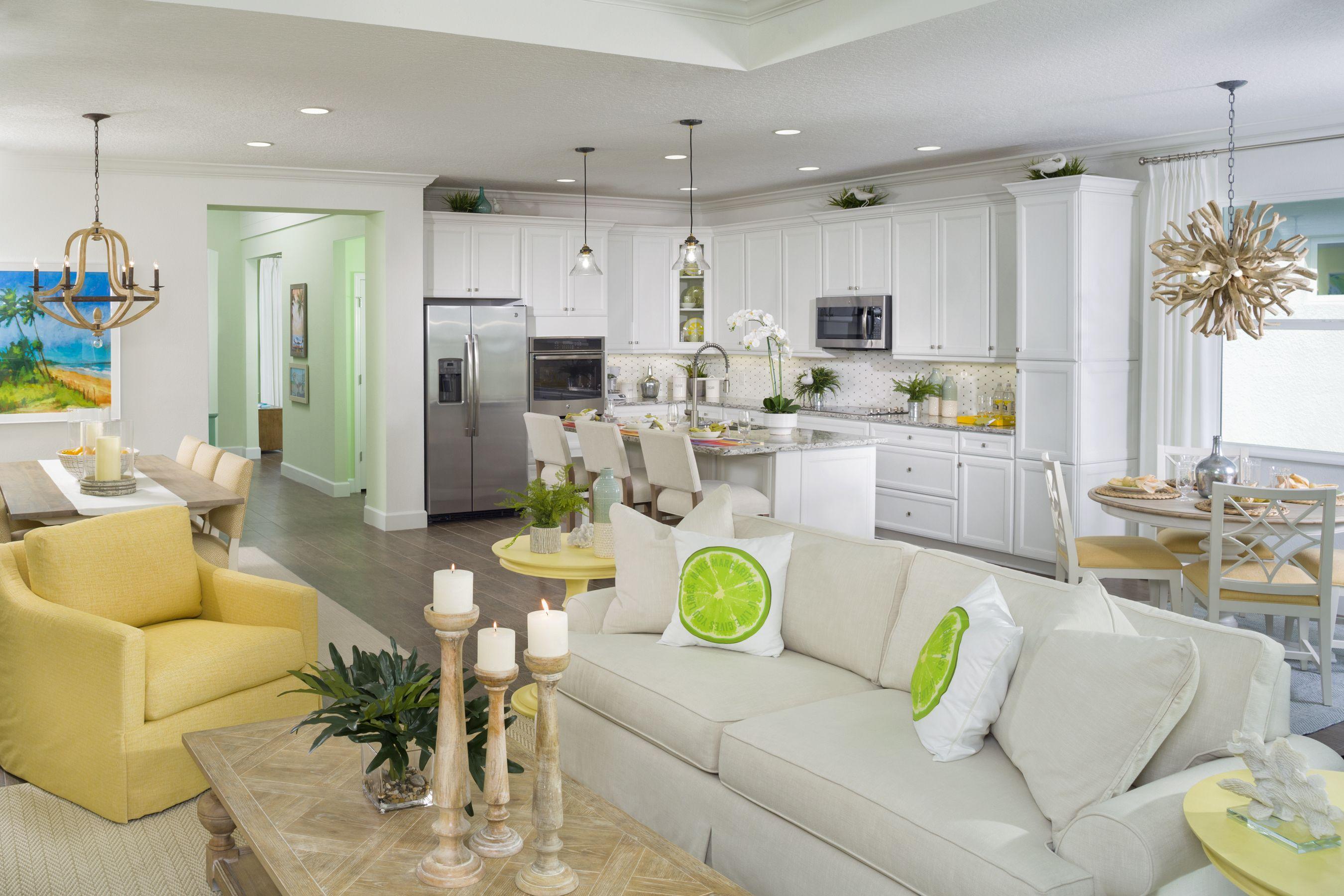 Breeze Model At Latitude Margaritaville Daytona Beach Minto Communities Retirement Community Home Buffet Decor