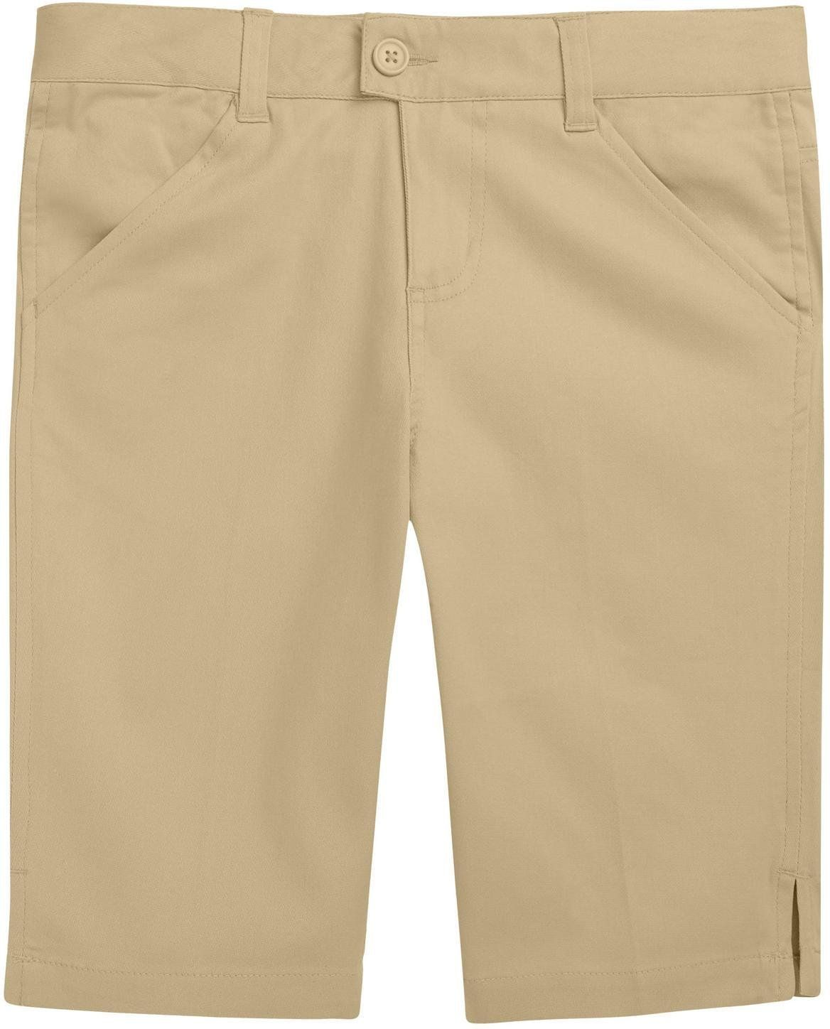 French Toast School Uniform Girls Bermuda Shorts Khaki 6X