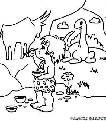 dibujos prehistoria para niños   Buscar con Google | Prehistoria