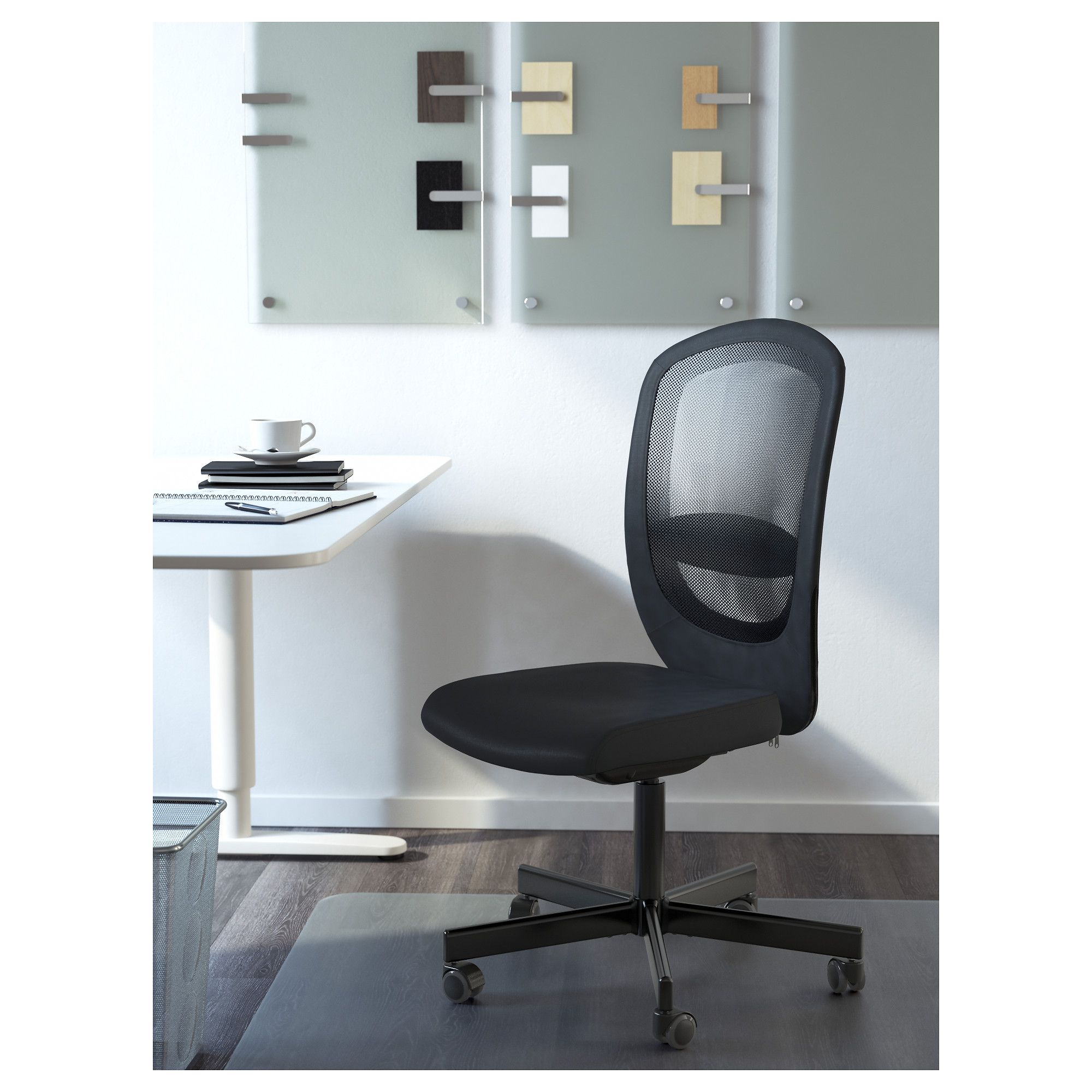 IKEA FLINTAN Office chair Vissle black Products