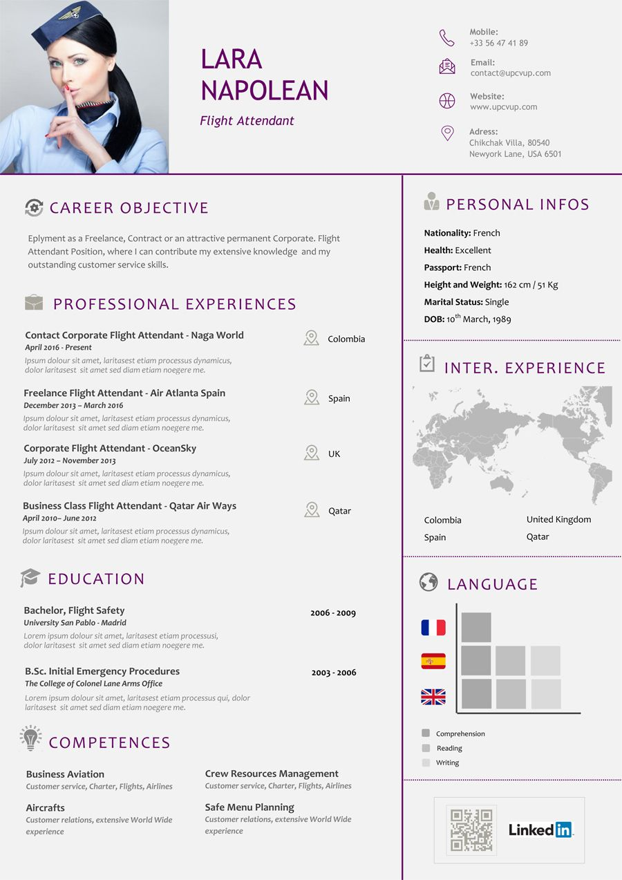 Epingle Sur 100 Exemples De Cv Design Word Format