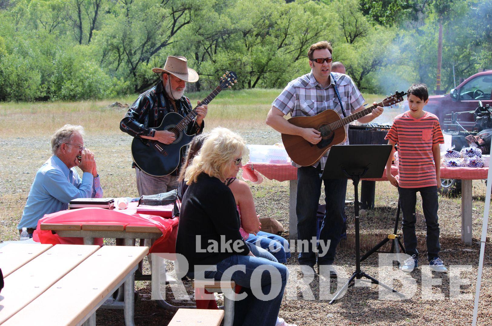 Valley Cowboy Church celebrates anniversary Baby