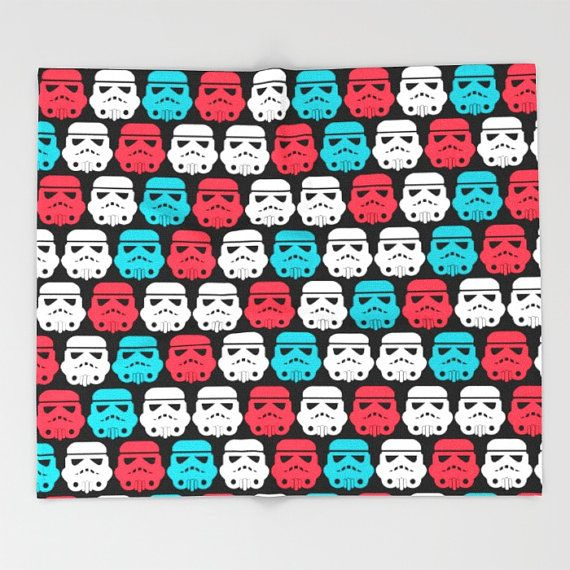Star Wars Blanket,  Stormtrooper Blanket, Super Soft blanket, Big blanket, Fleece Blanket, Kids blanket, boyfriend gift