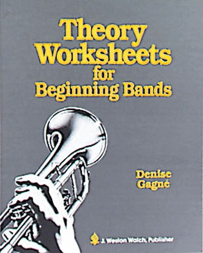 {THEORY WORKSHEETS for Beginning Bands Paperback Are your band – Theory Worksheets for Beginning Bands
