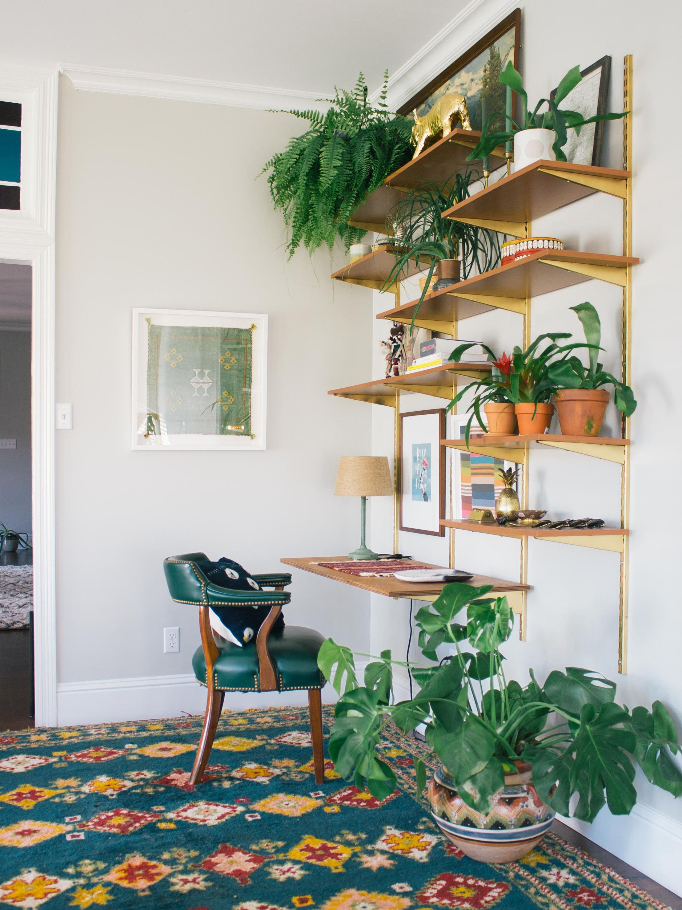 Plant Shelves For Walls 15 Gorgeous Ways To Decorate With Plants Wall Shelving