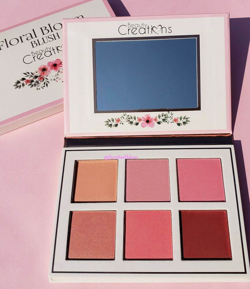 Beauty Creations Floral Bloom Blush Palette 100 Authentic New