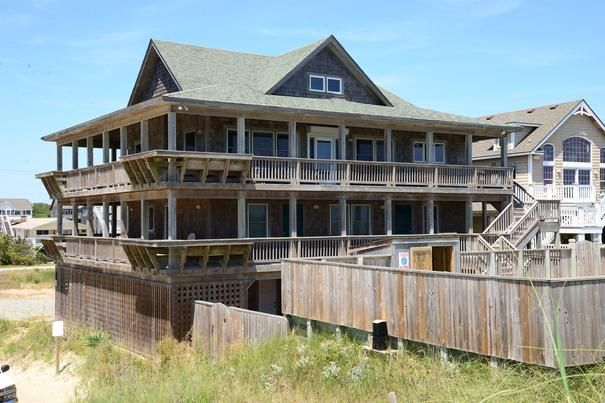 nags head vacation rental jackson cottage 278 outer banks rentals rh pinterest com
