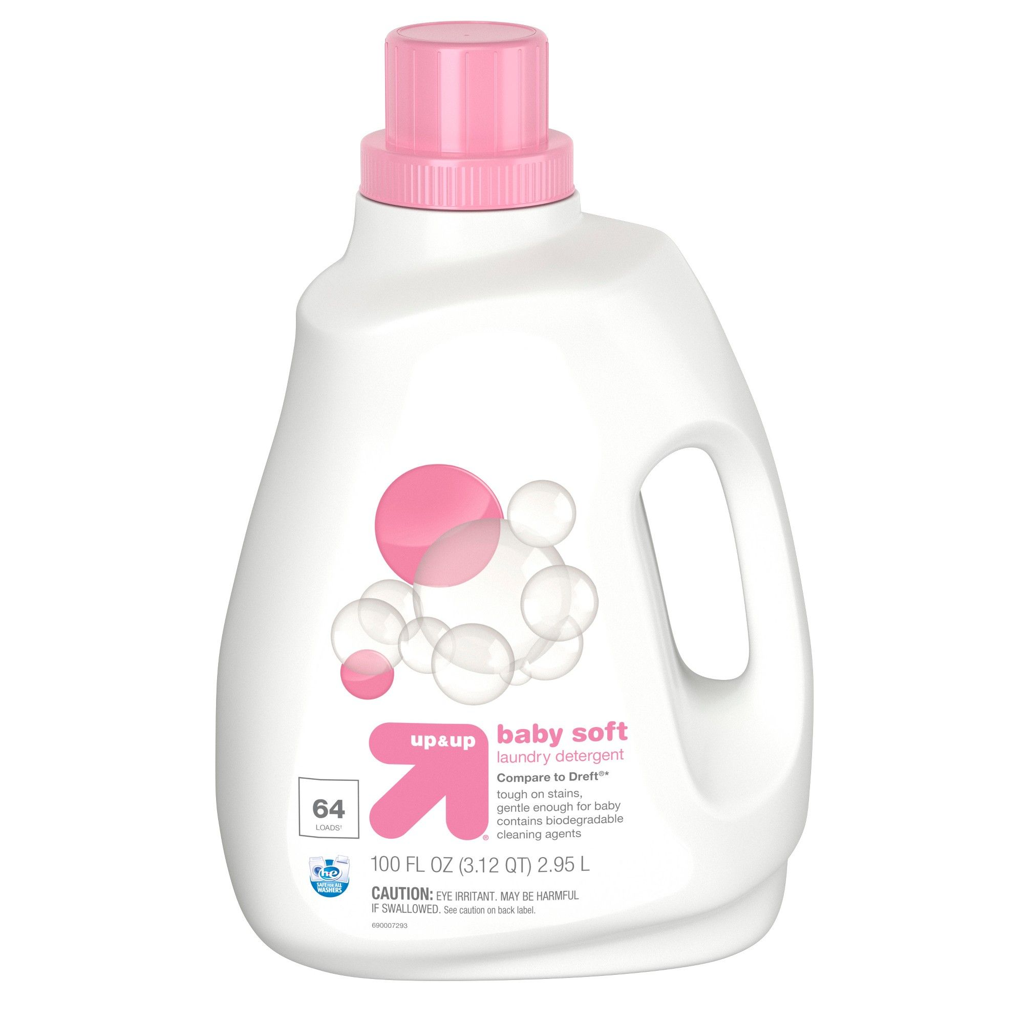 Baby He Liquid Laundry Detergent 100oz Up Up With Images