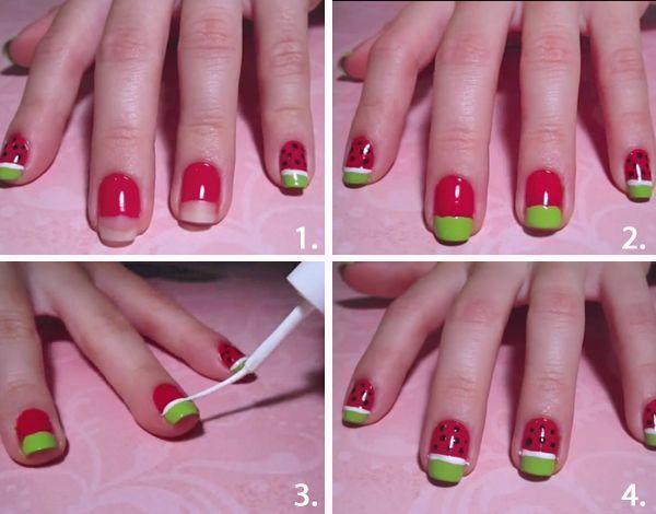 Schön und einfach – #and #easy # nice – Nagels makkelijk – #easy #makk … – …..