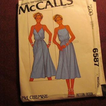 Sale Uncut 1970 39 S Mccall 39 S Sewing Pattern 6587 14 16