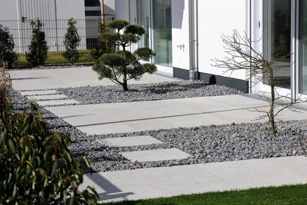 Platten Kies Verlegen Google Suche Garten Gartenwege Anlegen Gartenweg