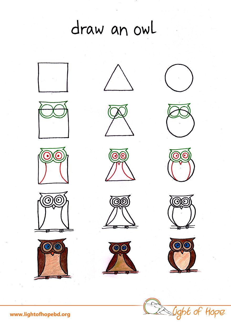 Uncategorized How To Draw Any Animal how to draw any animal from a square triangle and circle circle