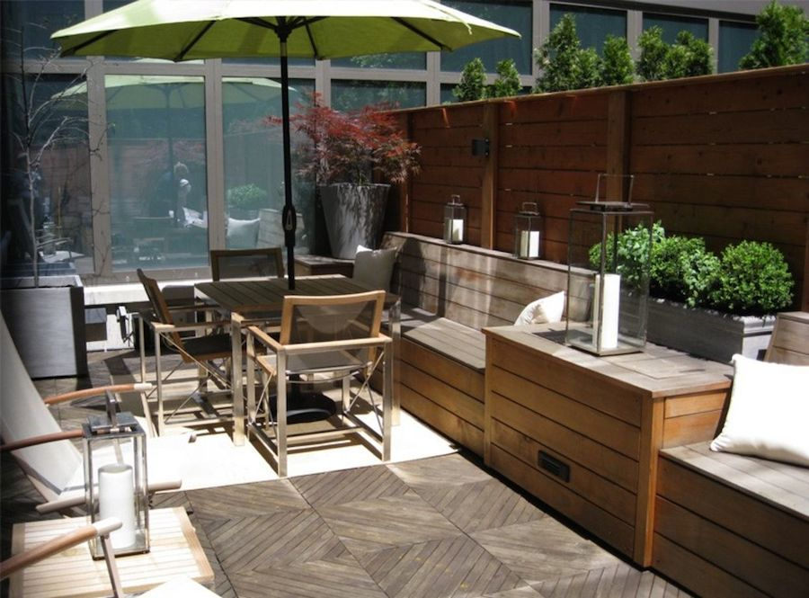 Small Space Ideas For Balconies Terraces And Decks