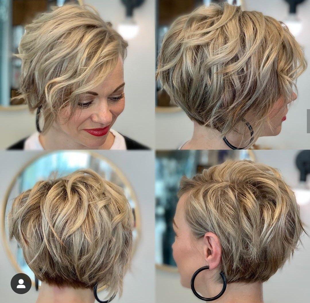 kort rufsig frisyr
