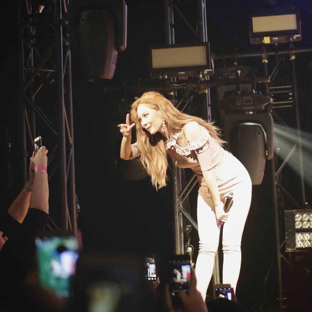Hyuna The Queen S Back Concert In New York
