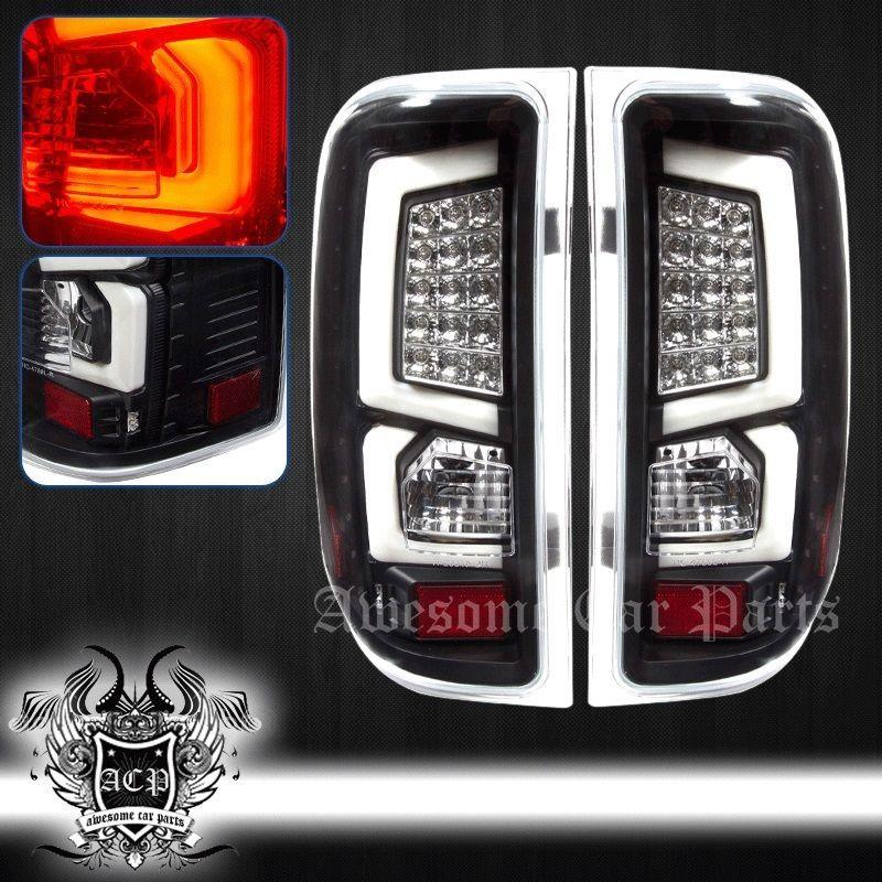 07 13 Silverado C Streak L E D Replacement Brake Tail Light Lamp Assembly Black White Truck Classic Car Insurance Car