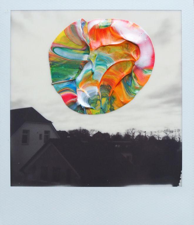 Elsa K. Gaertner: Overpainted Photograph - Colouring my world