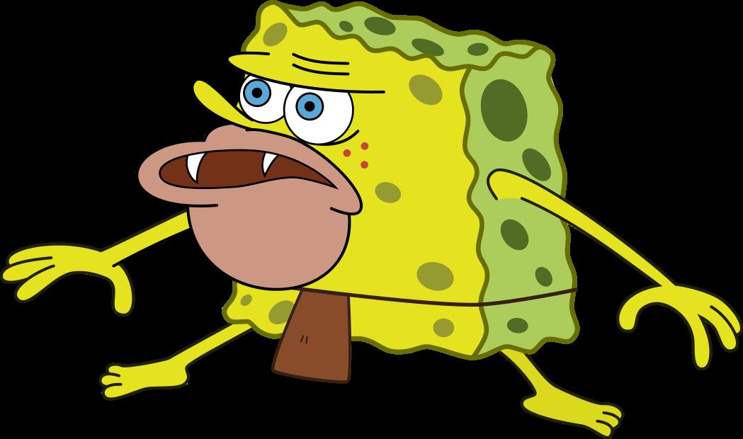 Primitive Spongebob Remastered Spongegar Primitive Sponge Caveman Spongebob Spongebob Primitive Anime