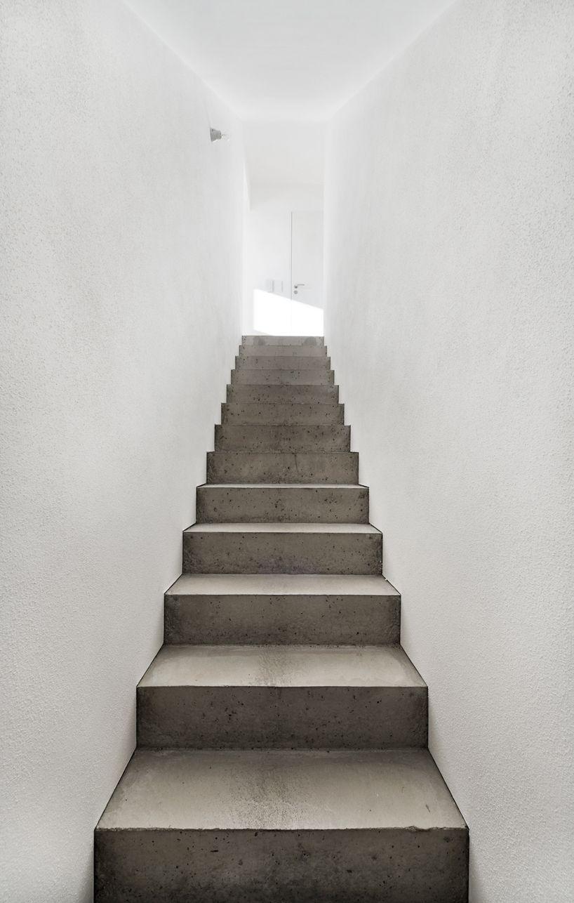 Soho Architektur House Ke12 Concrete Stairs Concrete