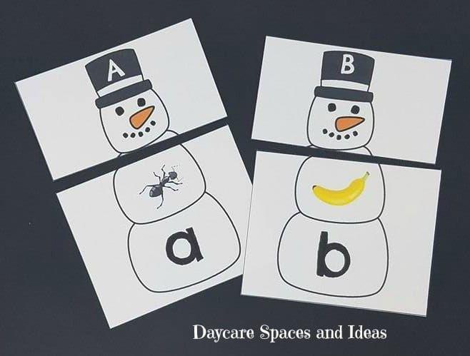 Snow & Snowman activity pack Pinterest