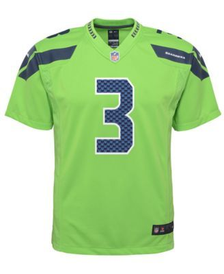 official photos 87d63 47397 Nike Russell Wilson Seattle Seahawks Color Rush Jersey ...