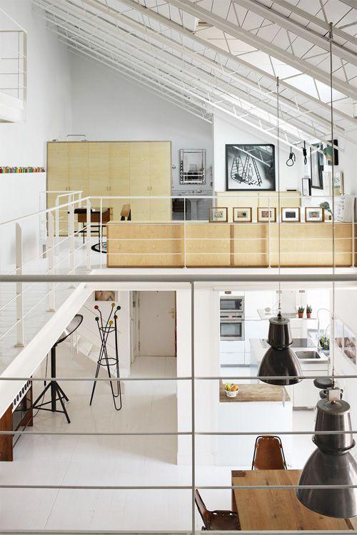 24 idées de mezzanines pour votre loft | Mezzanine, Lofts and ...