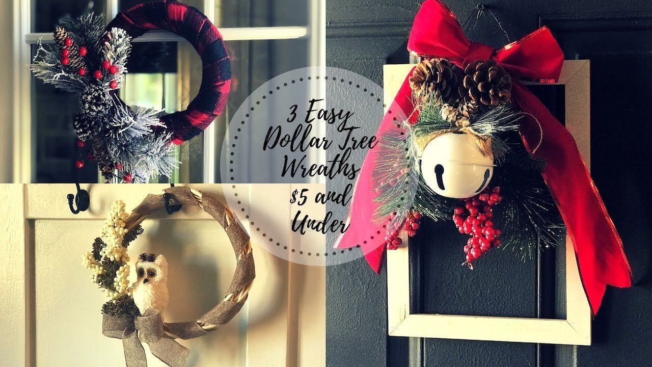 DIY DOLLAR TREE CHRISTMAS WINTER DECOR 2018FARMHOUSE AND