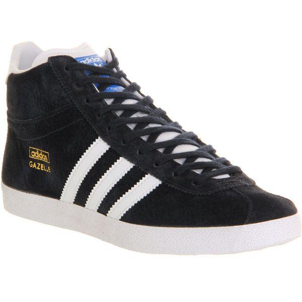 Adidas Gazelle Og Mid   Adidas gazelle, Adidas, White athletic shoes