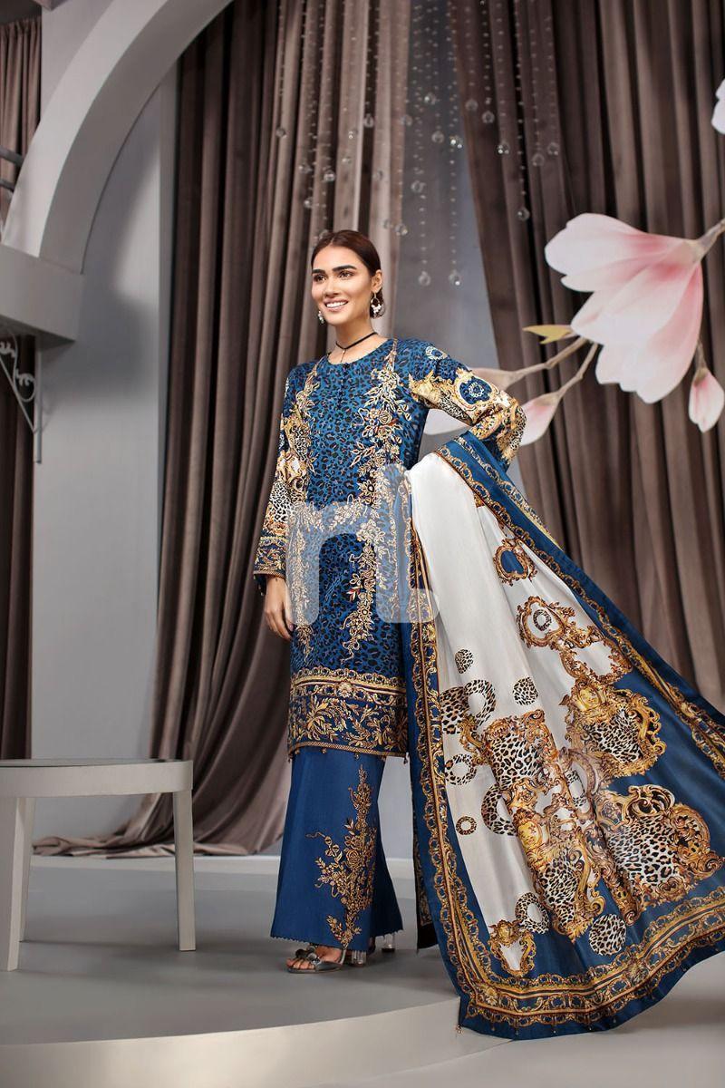 designer Linen PRINTED Stitched salwar kameez 2020 to clear for EID £22